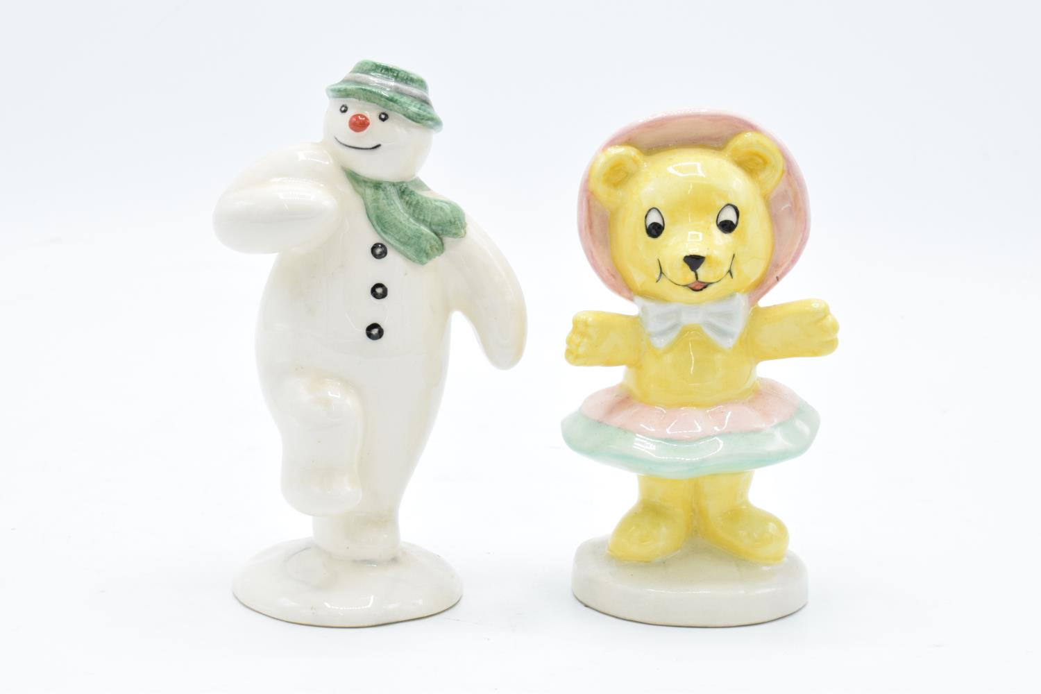 Royal Doulton The Snowman Gift Collection figure The Snowman DS2 and Tessie Bear limited edition