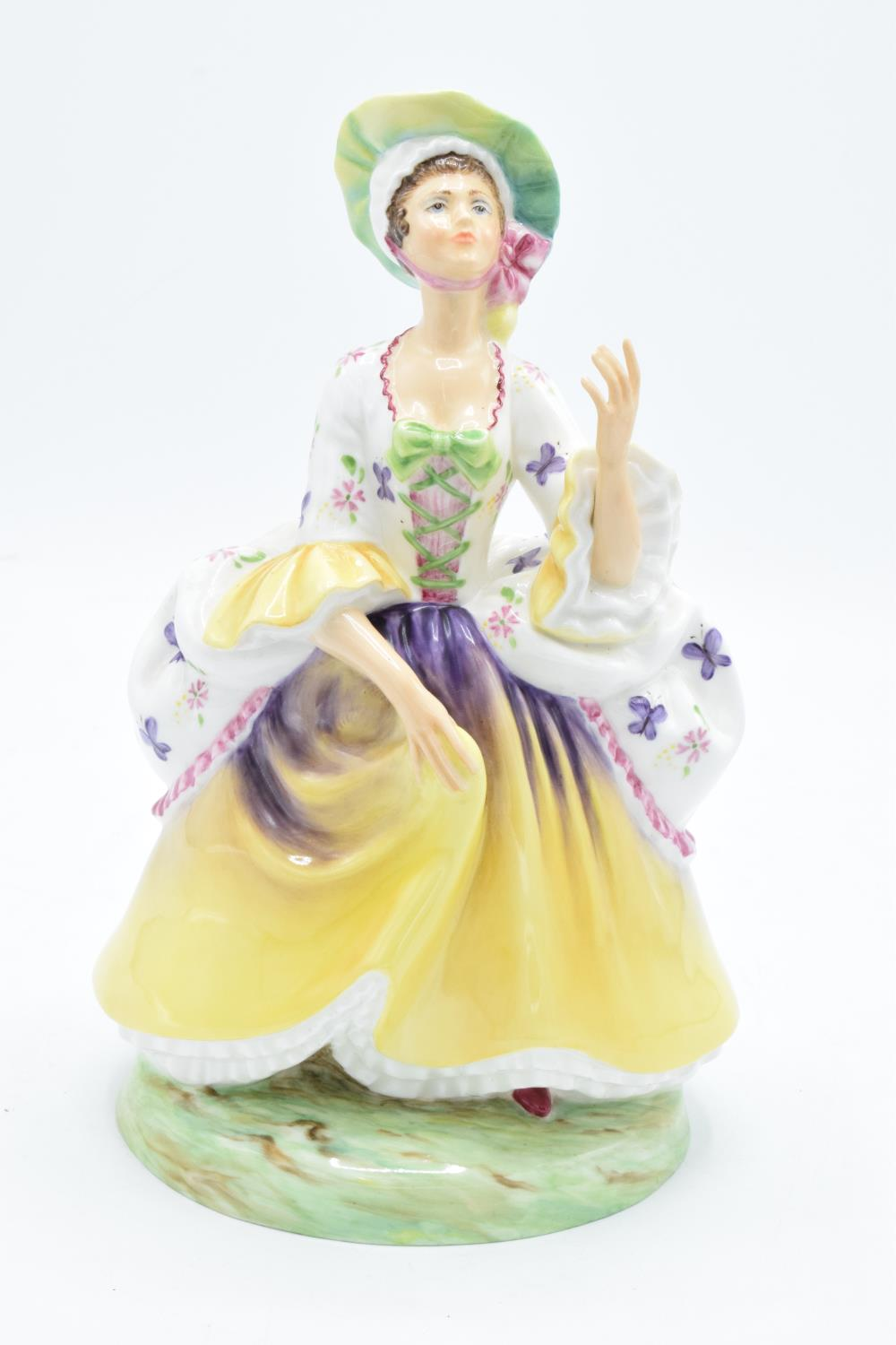 Peggy Davies Janus Pottery lady figure Peg Woffington from The Illustrious Ladies of the Stage