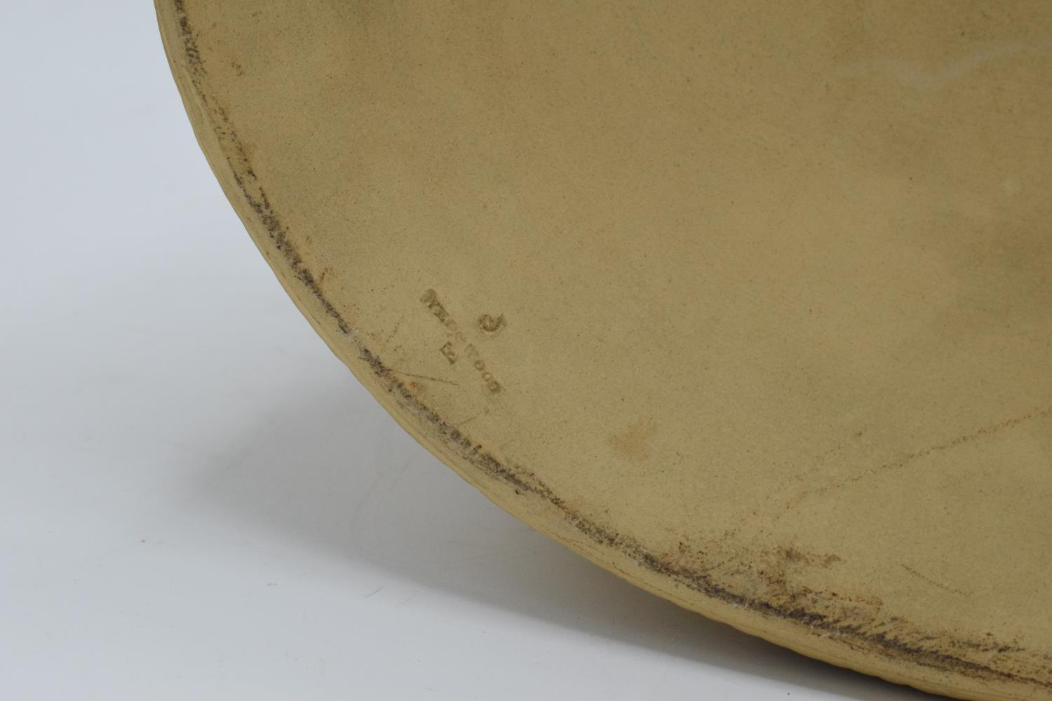 Wedgwood Caneware game pie dish with a rabbit finial (a/f). The main body is in good condition - Image 9 of 9