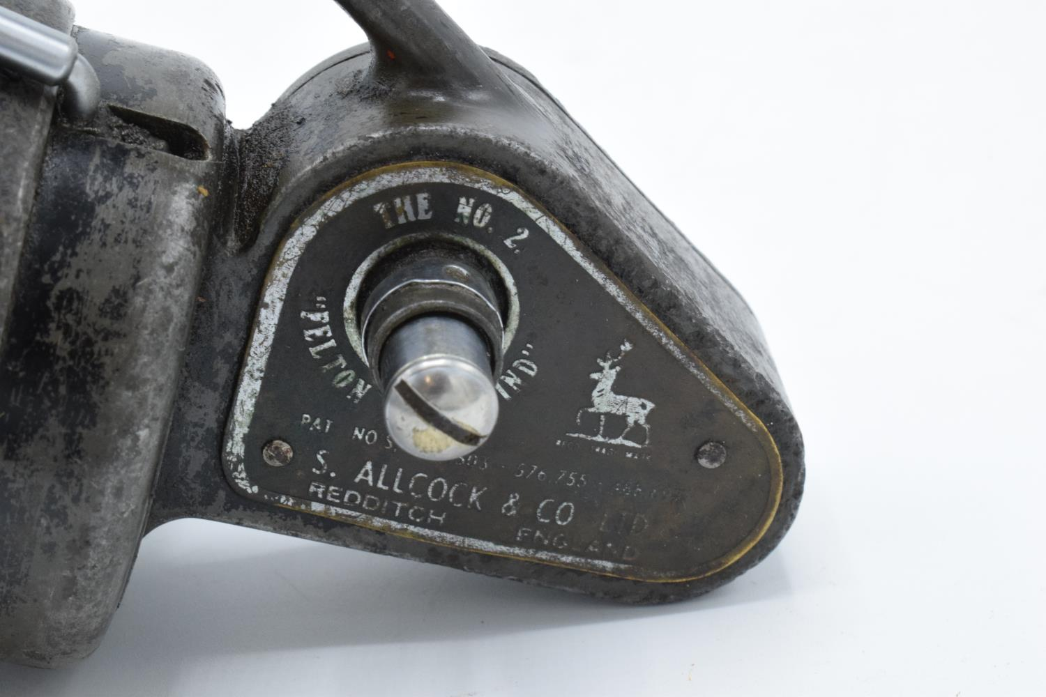 The No. 2 Felton Crosswind fishing reel by S. Allcock and Co Ltd of Redditch. Untested. - Image 6 of 6