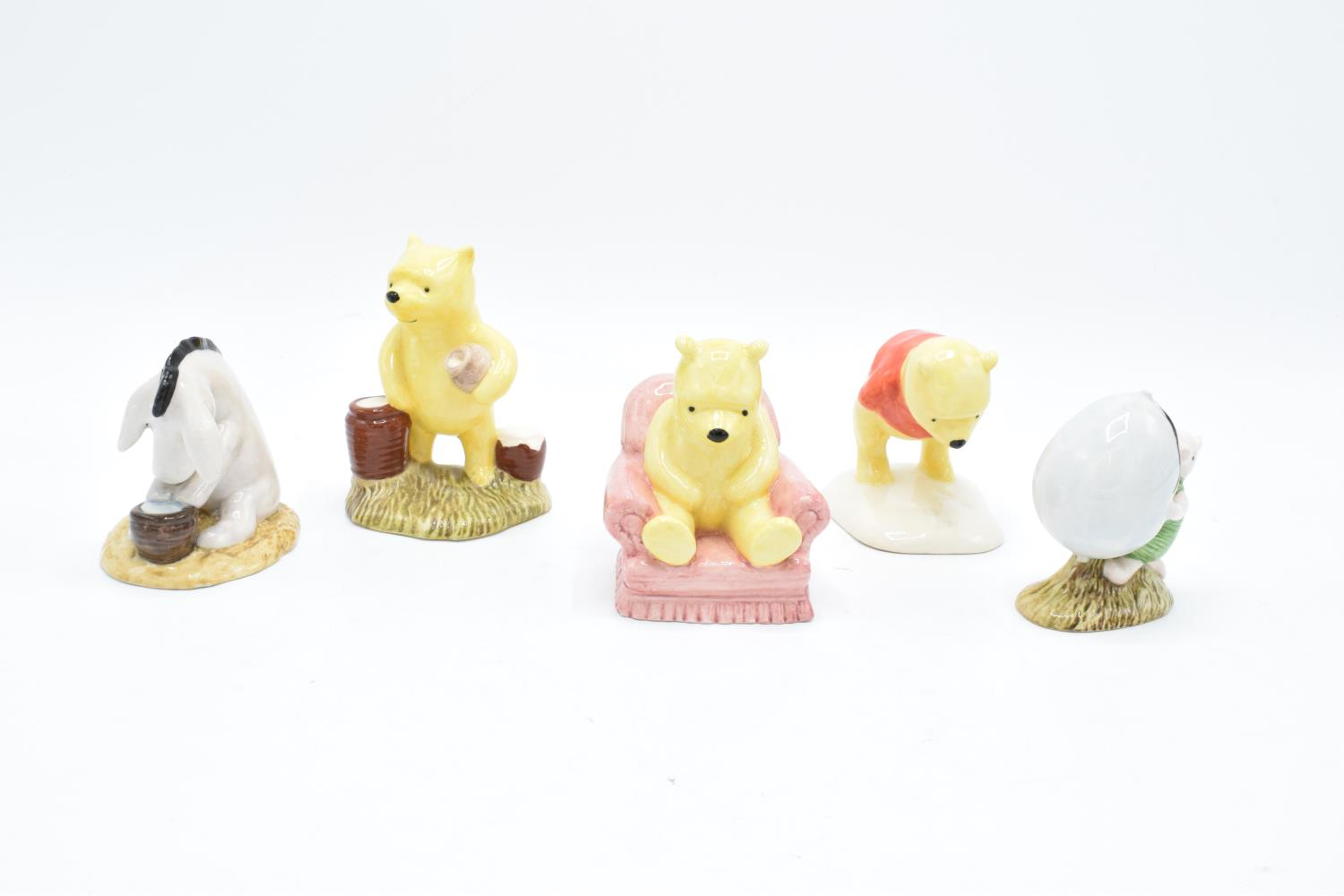 A collection of Royal Doulton Winnie the Pooh figures to include Winnie the Pooh and the paw - Image 2 of 4
