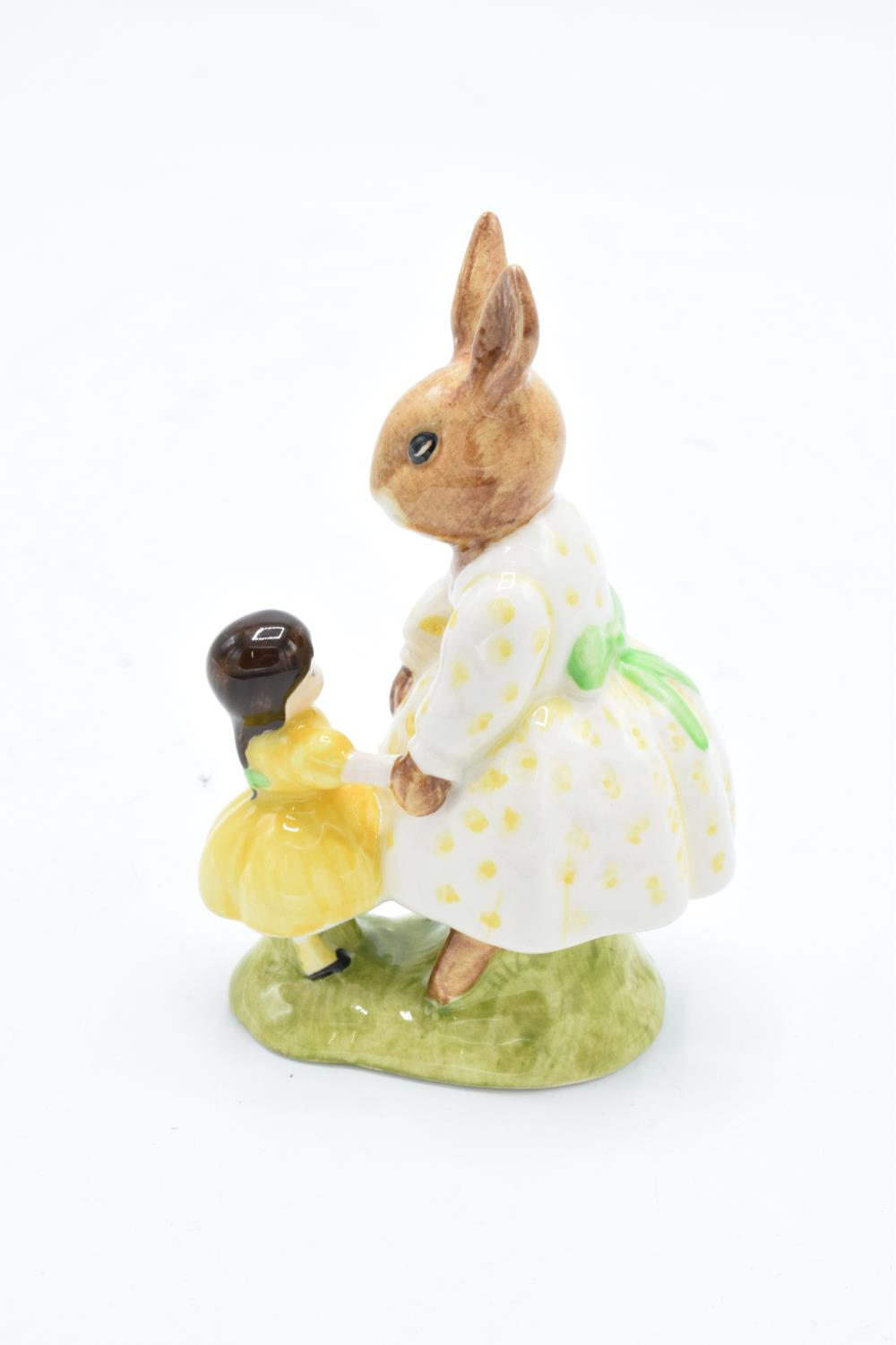 Royal Doulton figure Dollie Bunnykins DB80. Special colourway commission for D H Holmes. In good - Image 2 of 3
