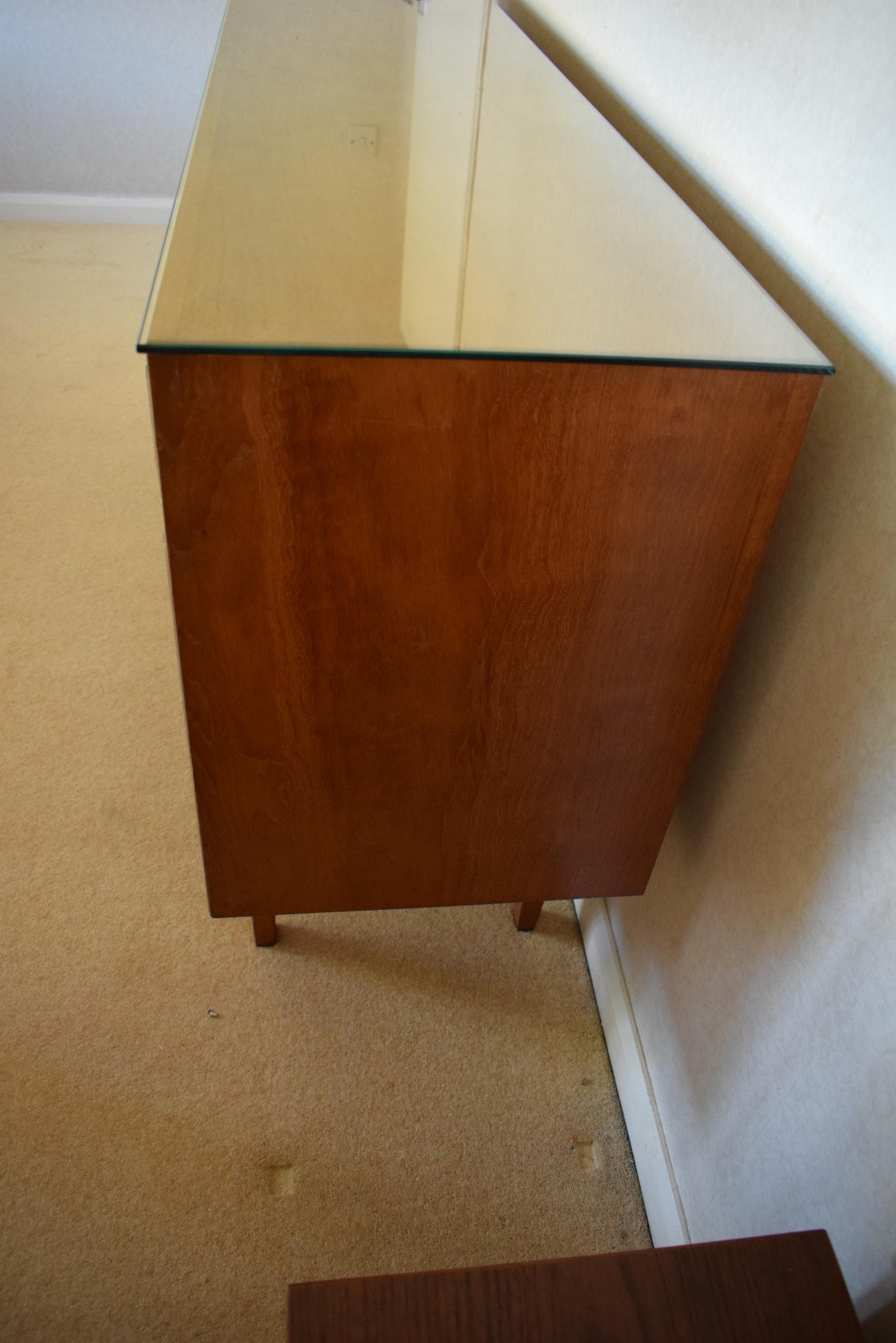 Gordon Rusell Limited four-door mid-century / retro sideboard on tapered legs with 4 drawers too. - Image 6 of 8