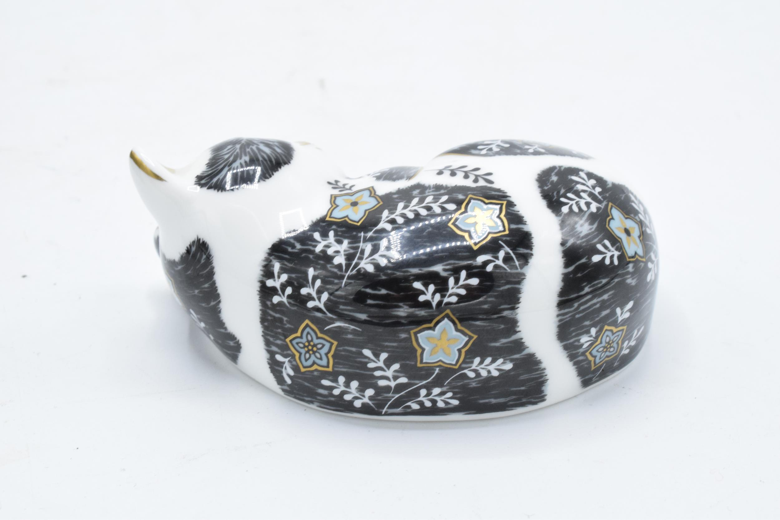 Boxed Royal Crown Derby paperweight in the form of Misty the Kitten. Exclusive for the RCD - Image 3 of 4