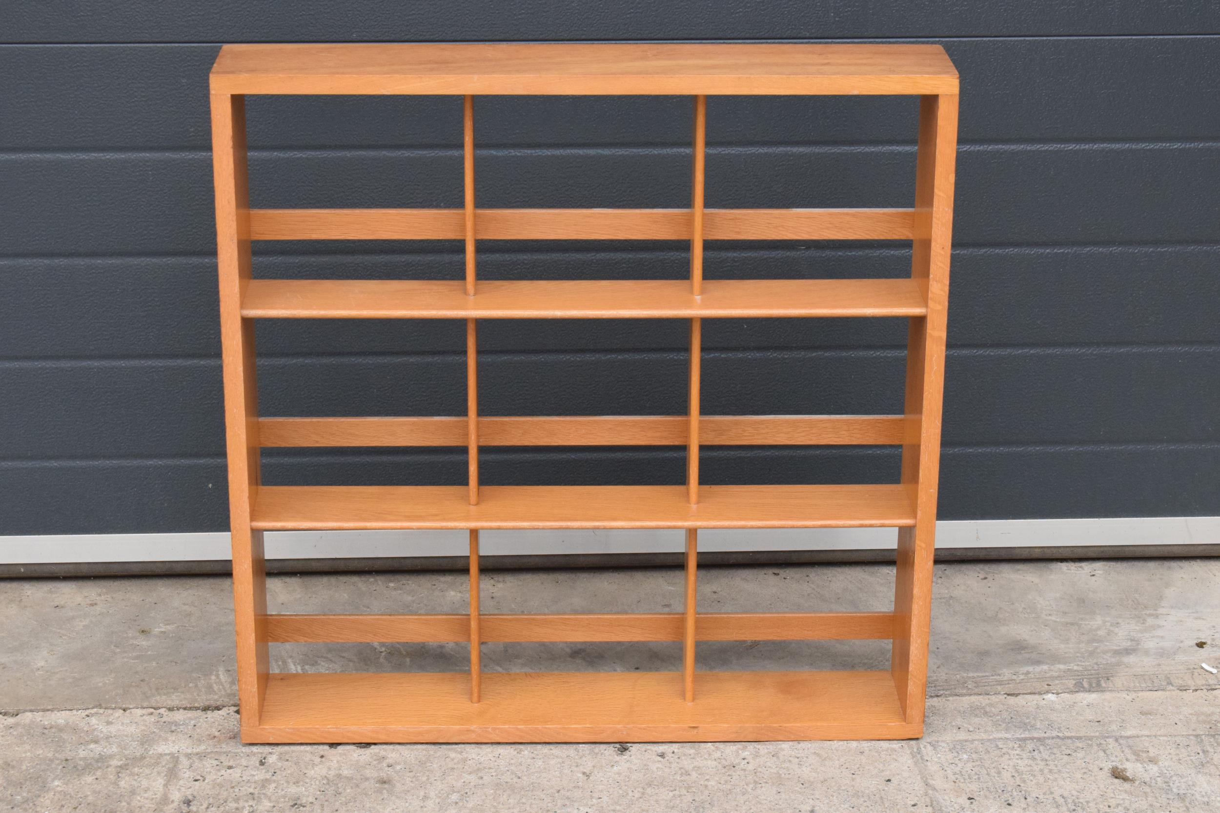A set of mid century / retro wooden shelves. 71 x 71 x 13cm. In good clean condition.