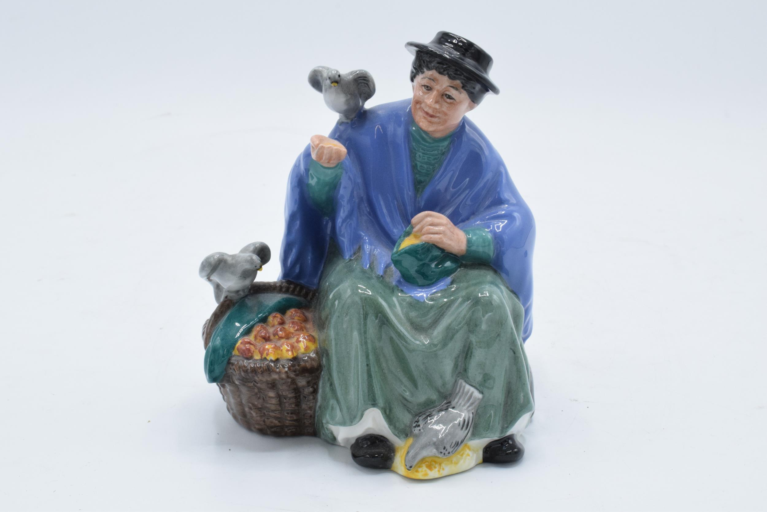 Royal Doulton figure Tuppence a Bag HN2320. 14cm tall. In good condition with no obvious damage or