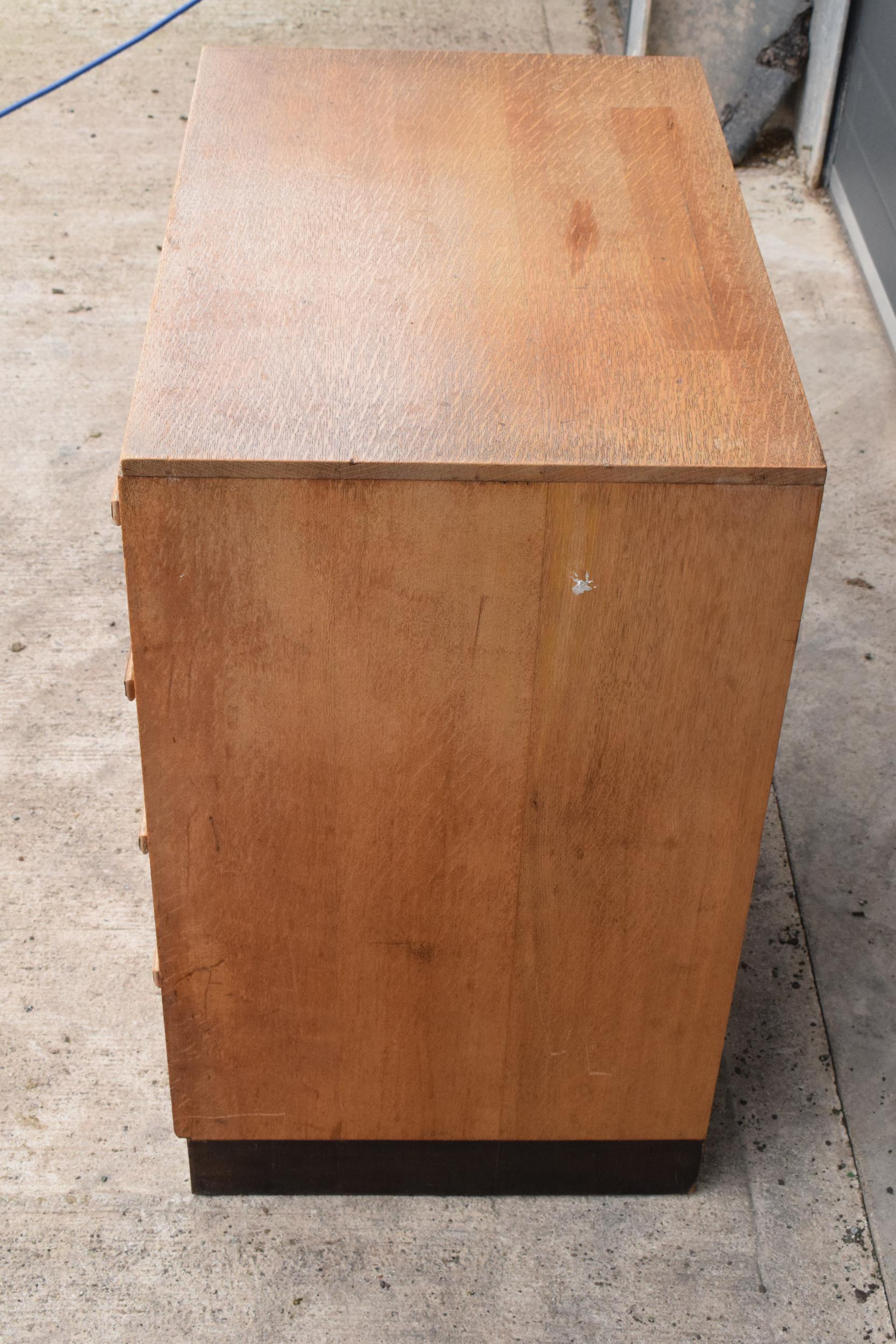 A mid century / retro Bowman Brothers Ltd of Camden Town chest of drawers together with an - Image 6 of 8