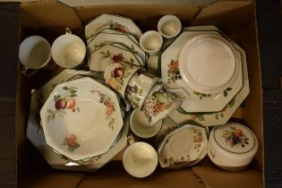 A collection of Johnson Brothers china tea set to include plates, side plates etc amongst similar