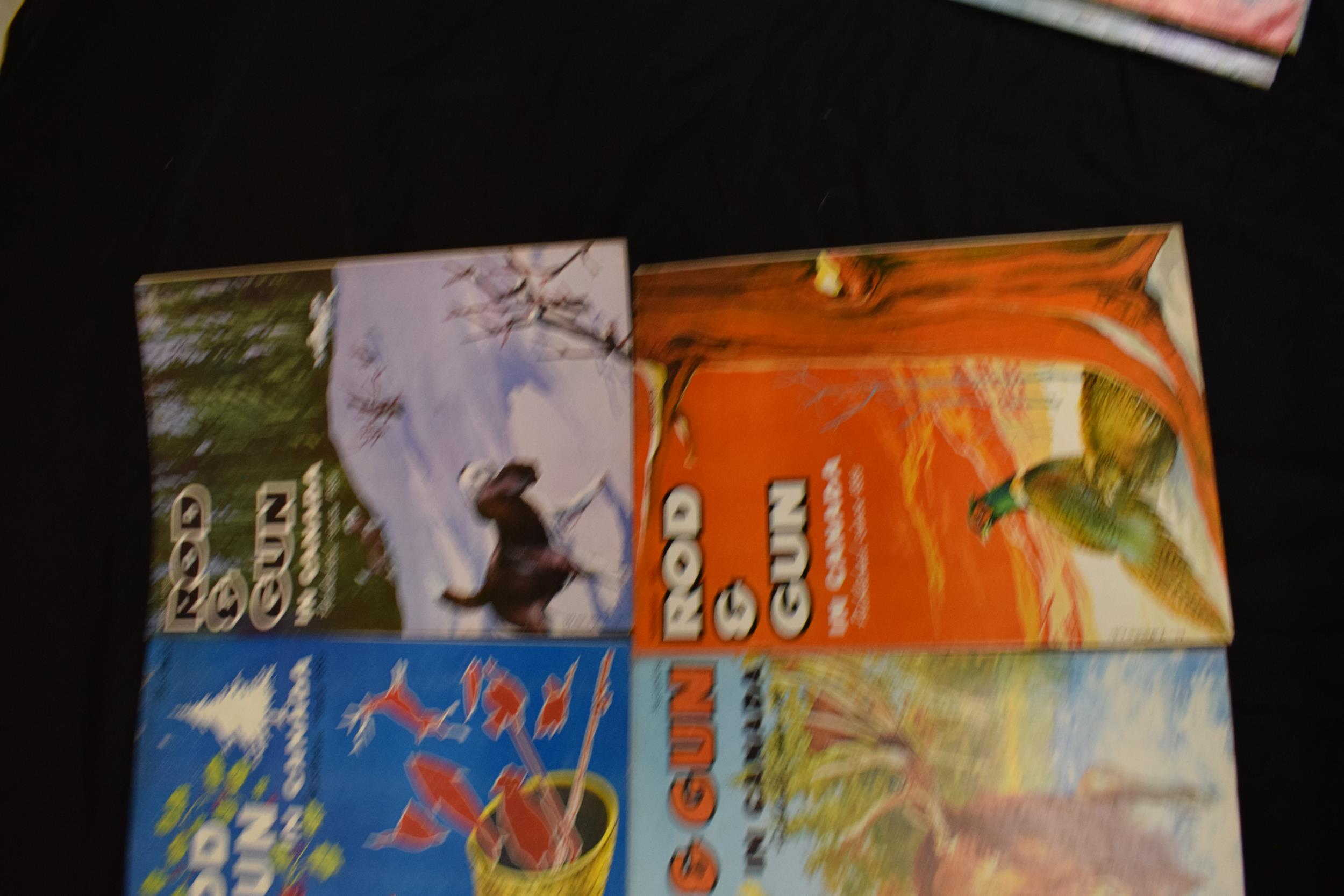 A collection of vintage 1960s 'Rod & Gun in Canada' magazines. Fishing and country sports - Image 3 of 4