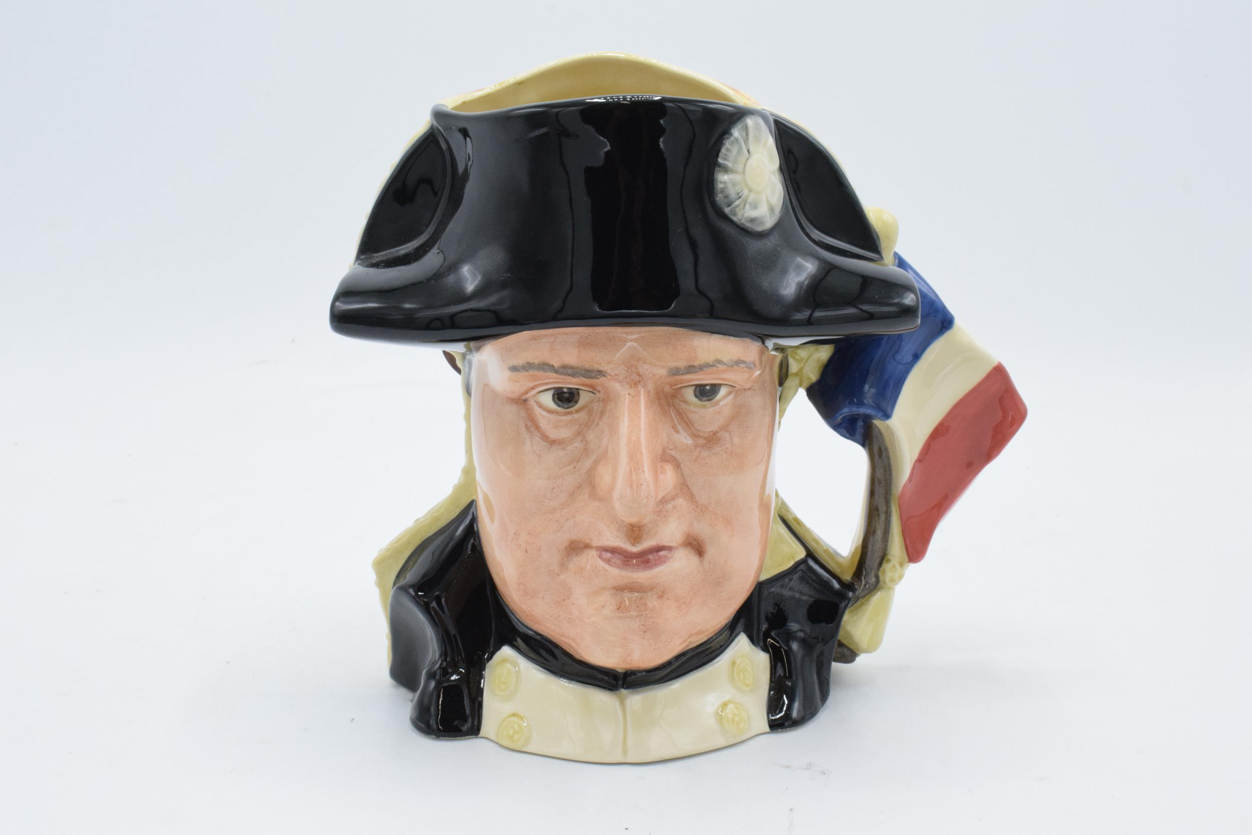 Large Royal Doulton double-sided character jug of Napoleon and Josephine D6750 4736/9500. In good - Image 2 of 5