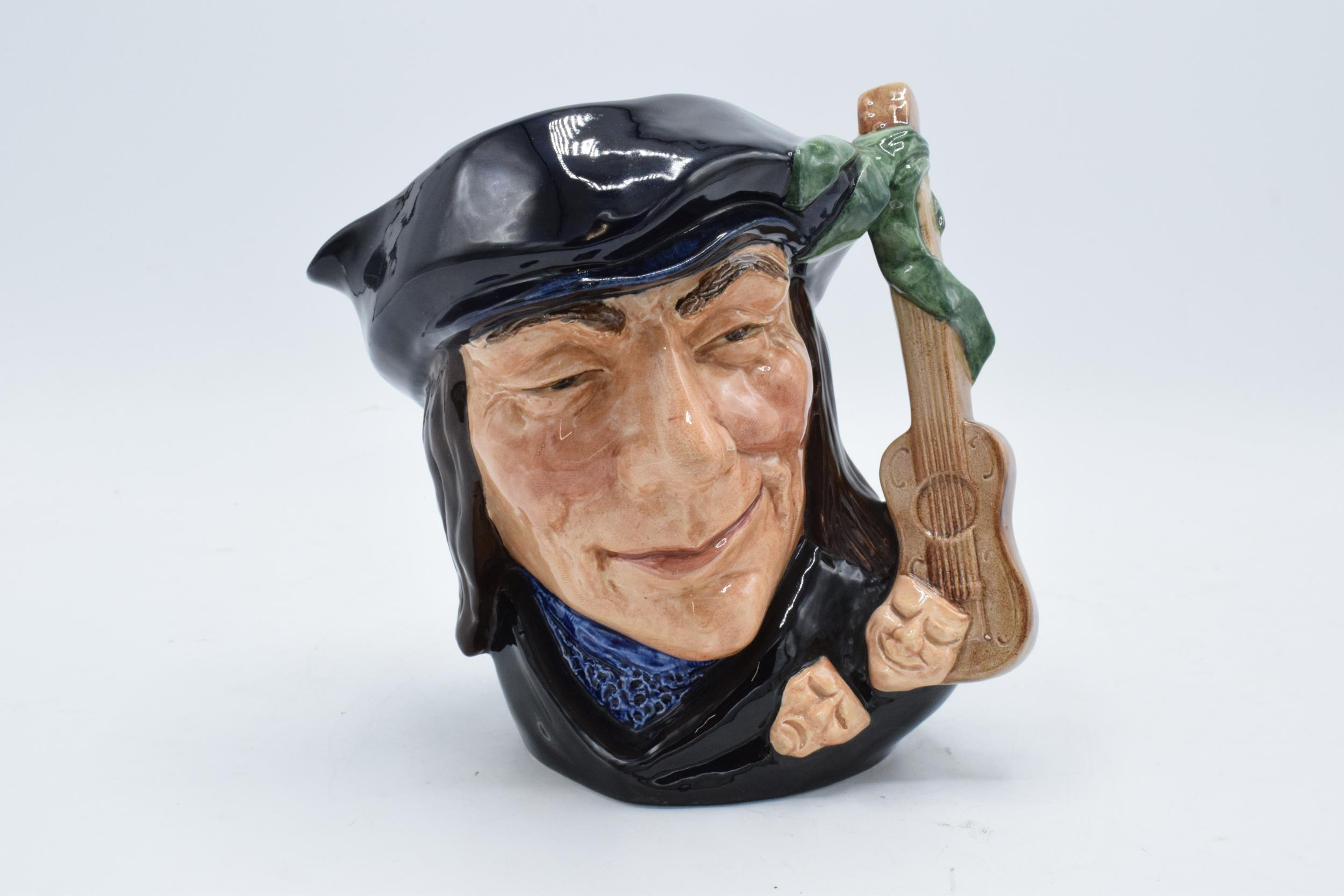 Large Royal Doulton character jug Scaramouche D6558. In good condition with no obvious damage or
