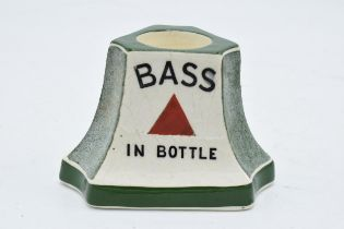 Mintons advertising match striker 'Bass in Bottle'. 7cm tall. In good condition with no obvious