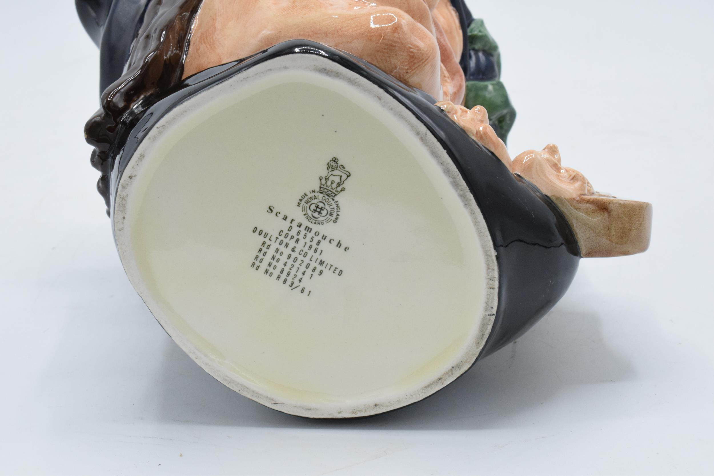 Large Royal Doulton character jug Scaramouche D6558. In good condition with no obvious damage or - Image 3 of 3