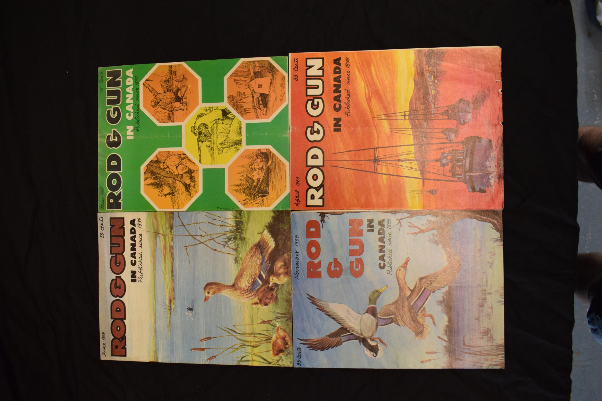 A collection of vintage 1960s 'Rod & Gun in Canada' magazines. Fishing and country sports - Image 4 of 4