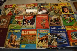 A collection of books and annuals to include the Wonder Book of Children, The Boys Own Annual Volume