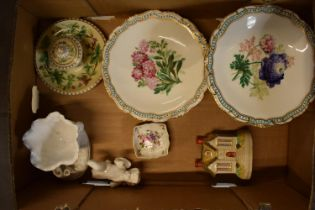 A collection of 19th but mainly 20th century Staffordshire and other pottery to include comports,