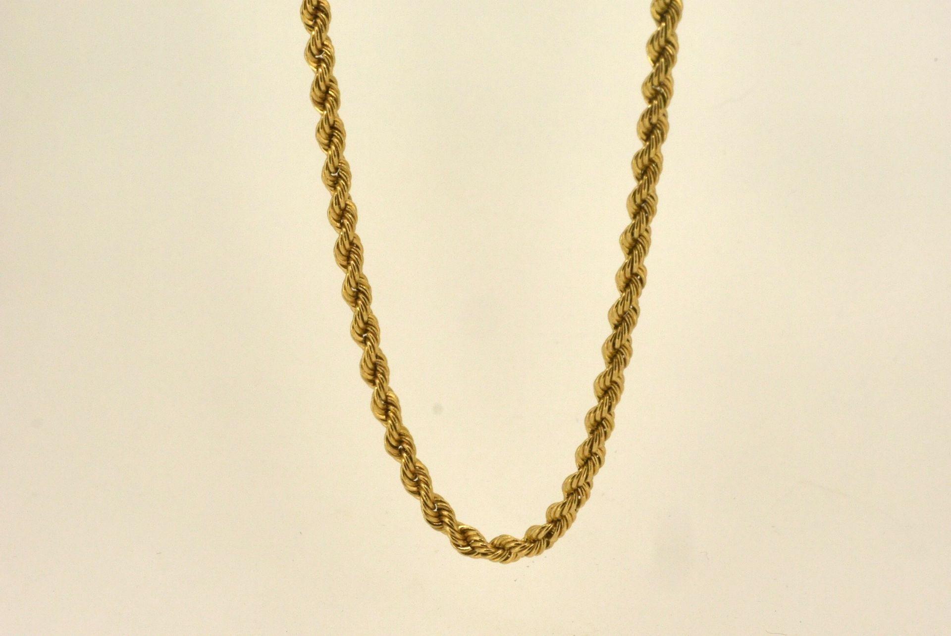 Halskette GG 585, 50 cm, 3,87 Gramm