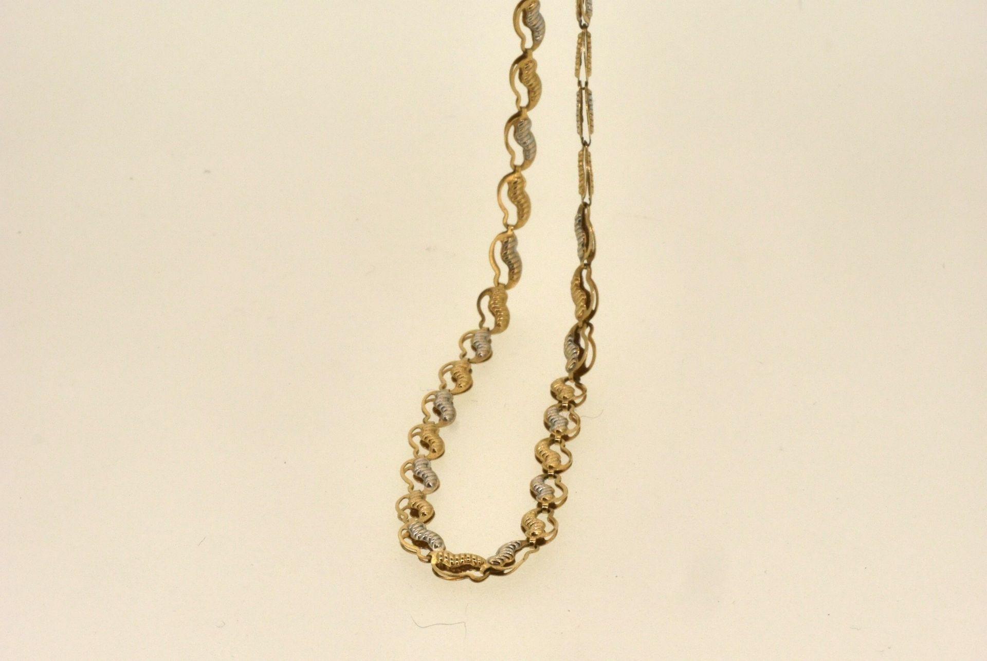 Halskette WG/GG 585, 50 cm, 5,10 Gramm