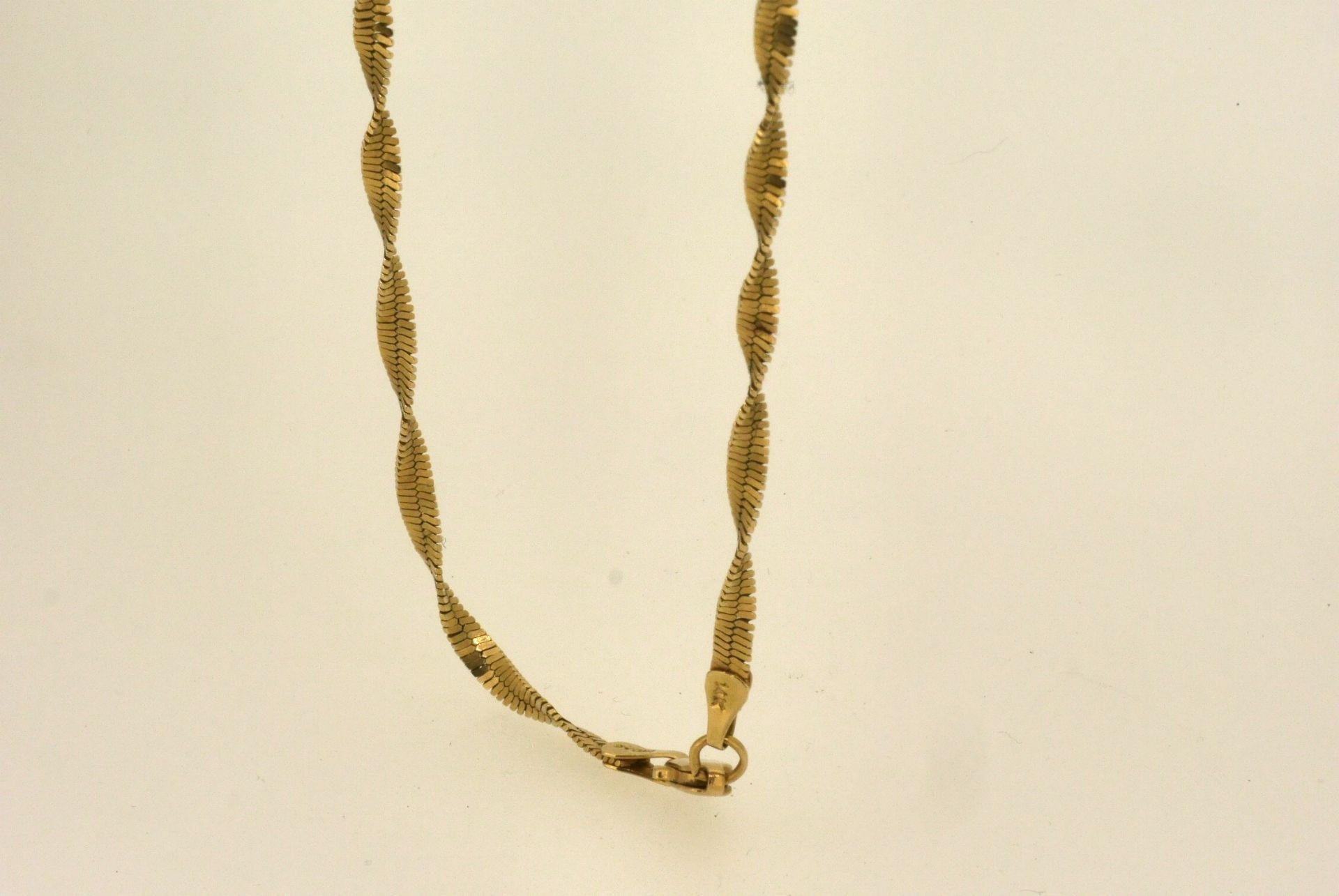 Halskette  GG 585, 52 cm, 9,36 Gramm