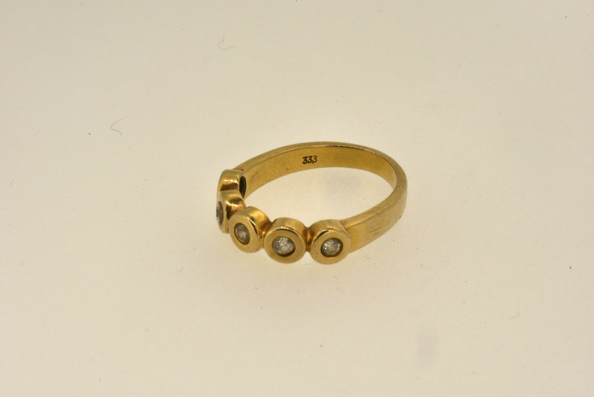 Ring GG 333, Zirkonia, 3,36 Gramm - Bild 2 aus 4
