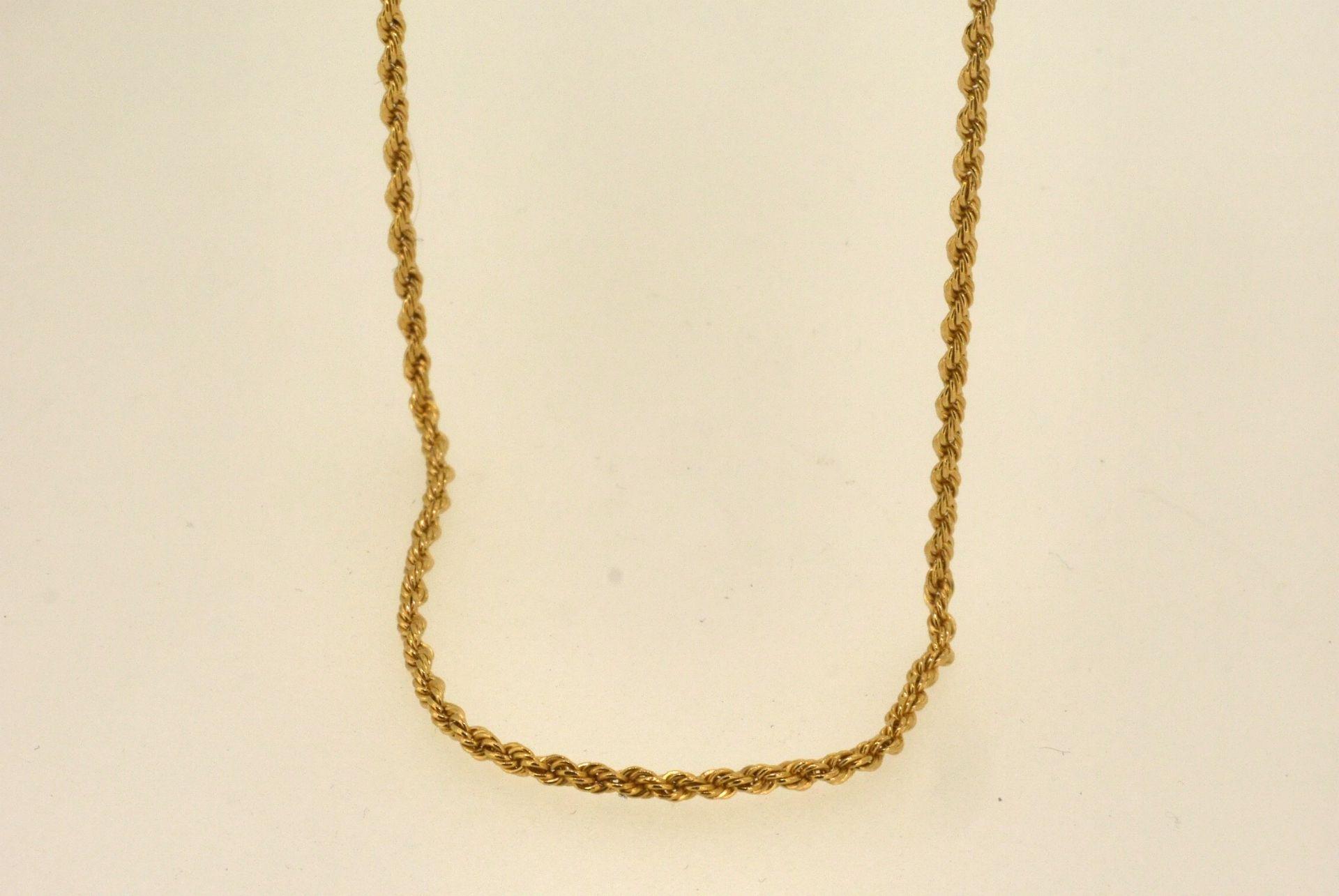 Kordellkette GG 750, 58 cm, 3,69 Gramm
