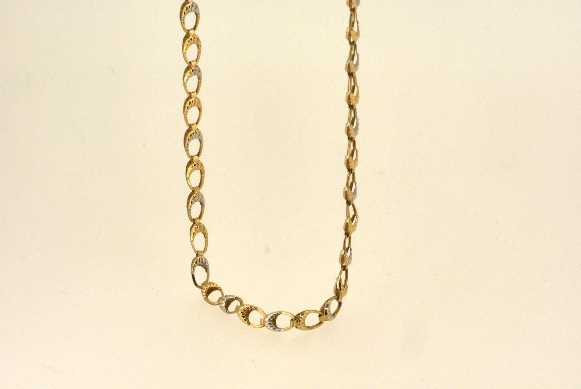 Halskette GG 585, 49 cm, 3,8 Gramm