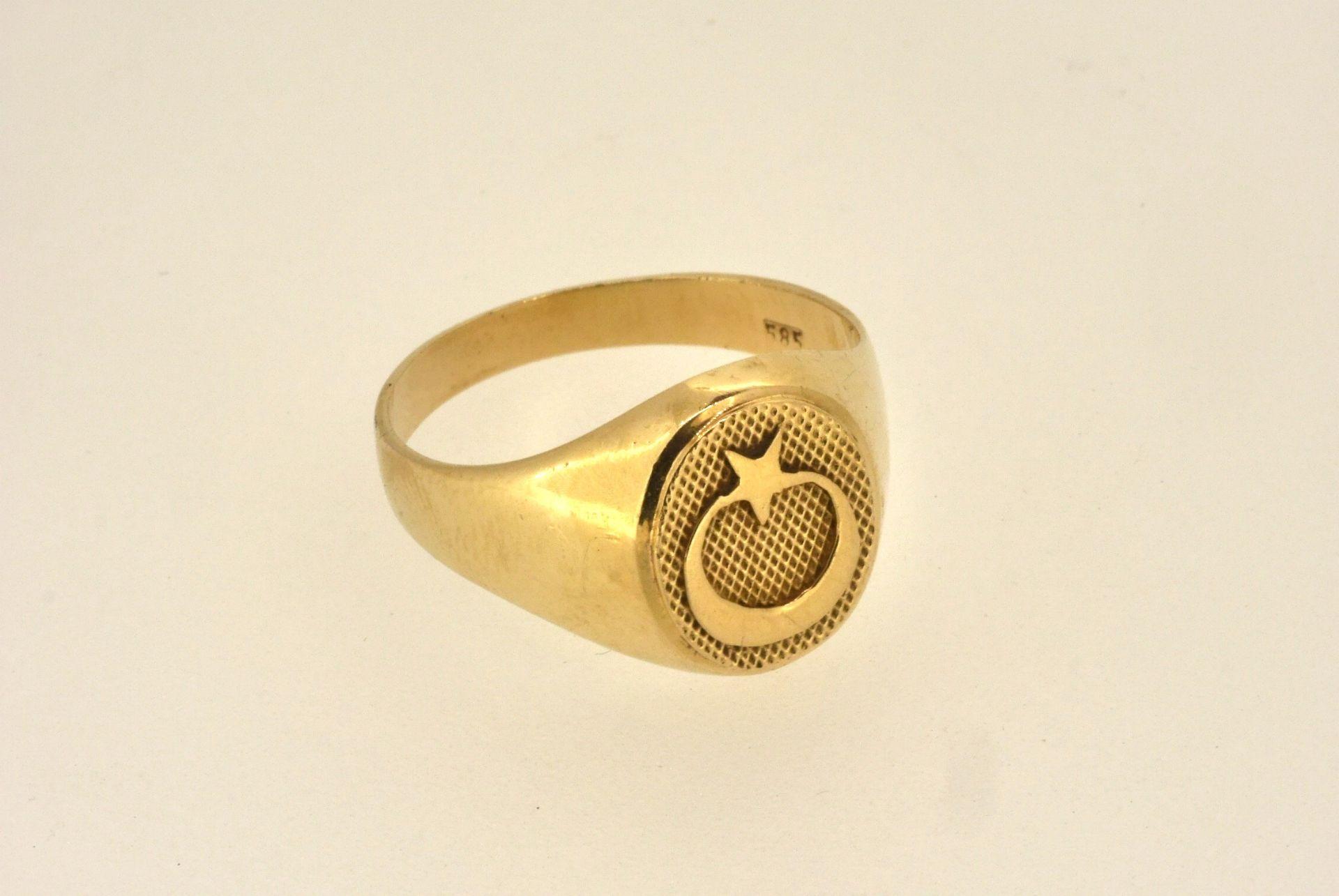 Ring GG 585, 5 Gramm