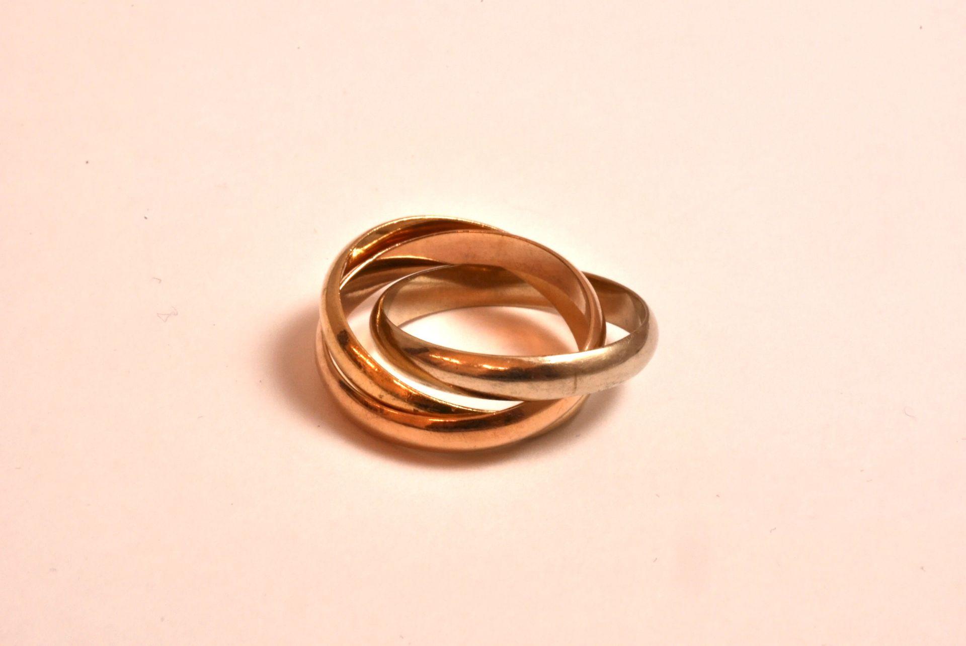 Trinity-Ring WG/RG/GG 750, 8,5 Gramm