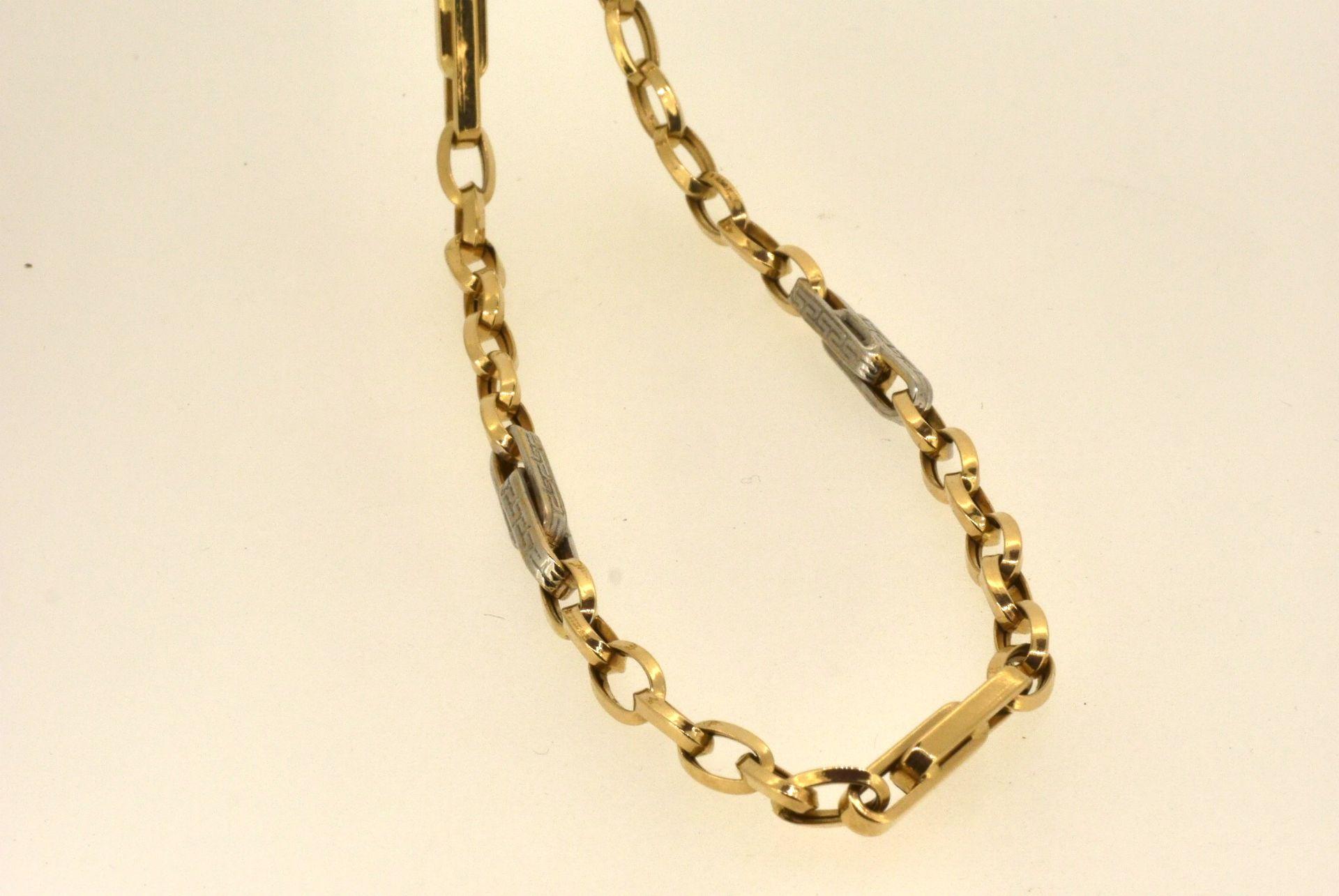 Halskette WG/GG 585, 58 cm, 9,66 Gramm