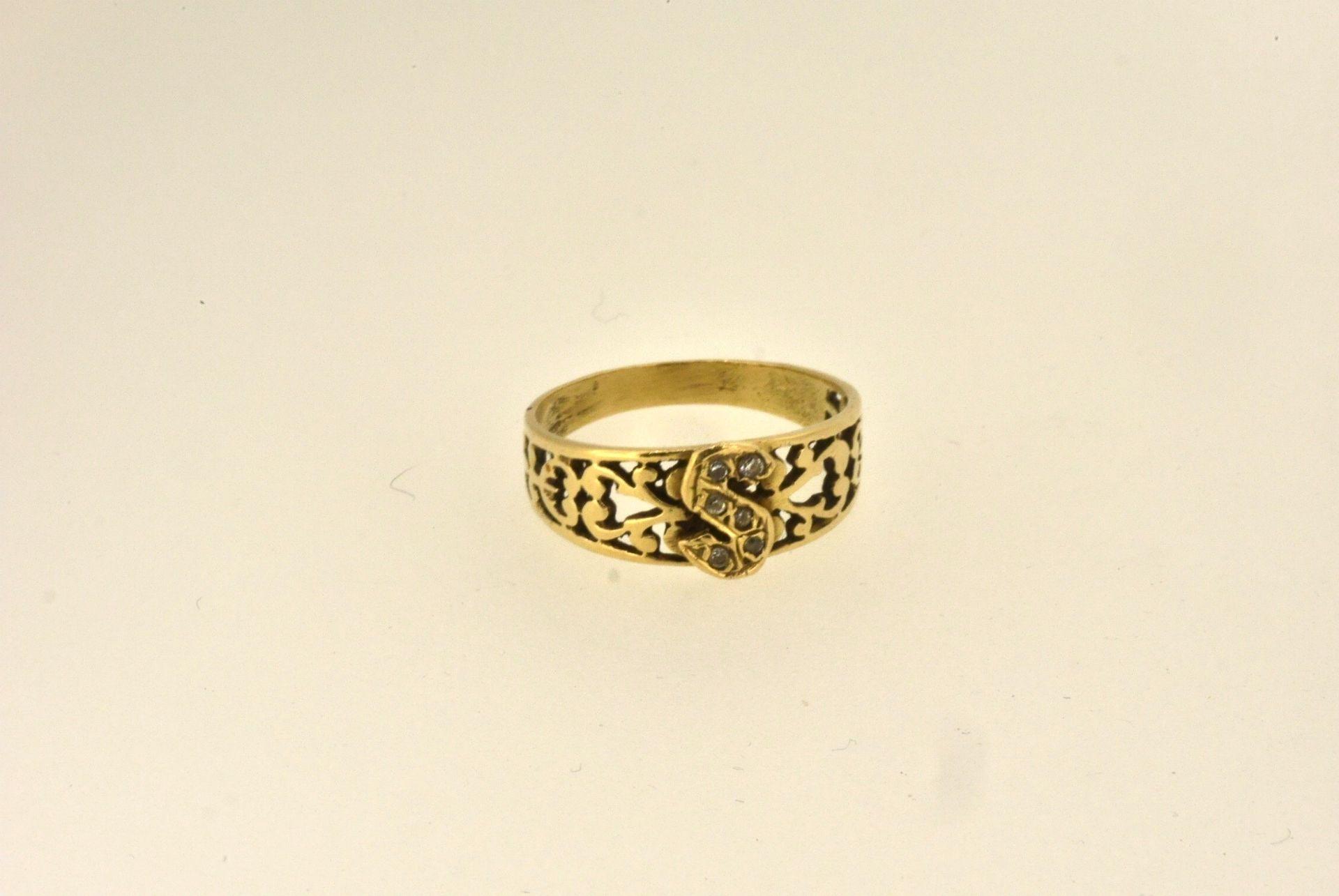 Ring GG 585, 2,78 Gramm