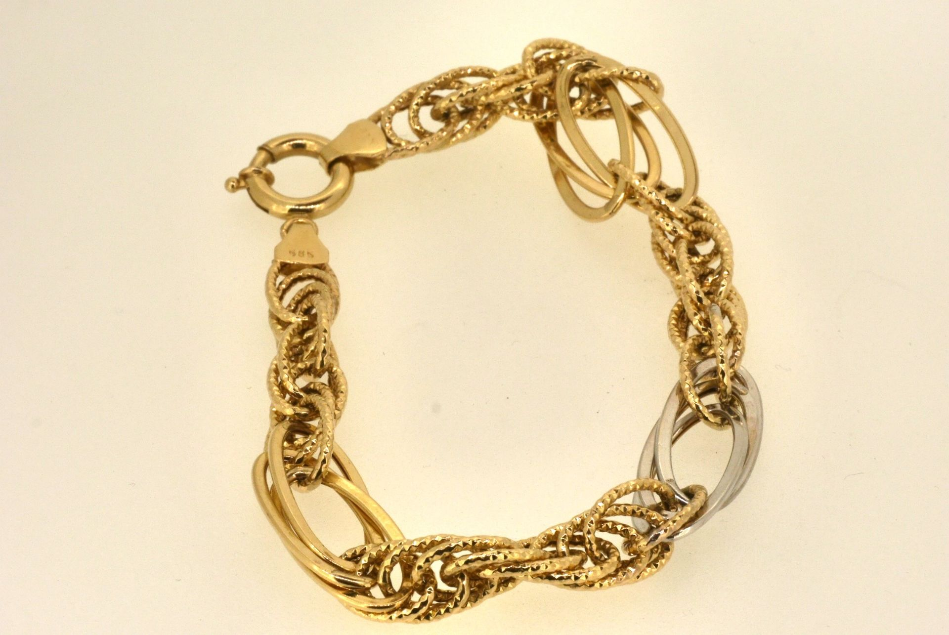 Armband WG/GG 585, 6,75 Gramm