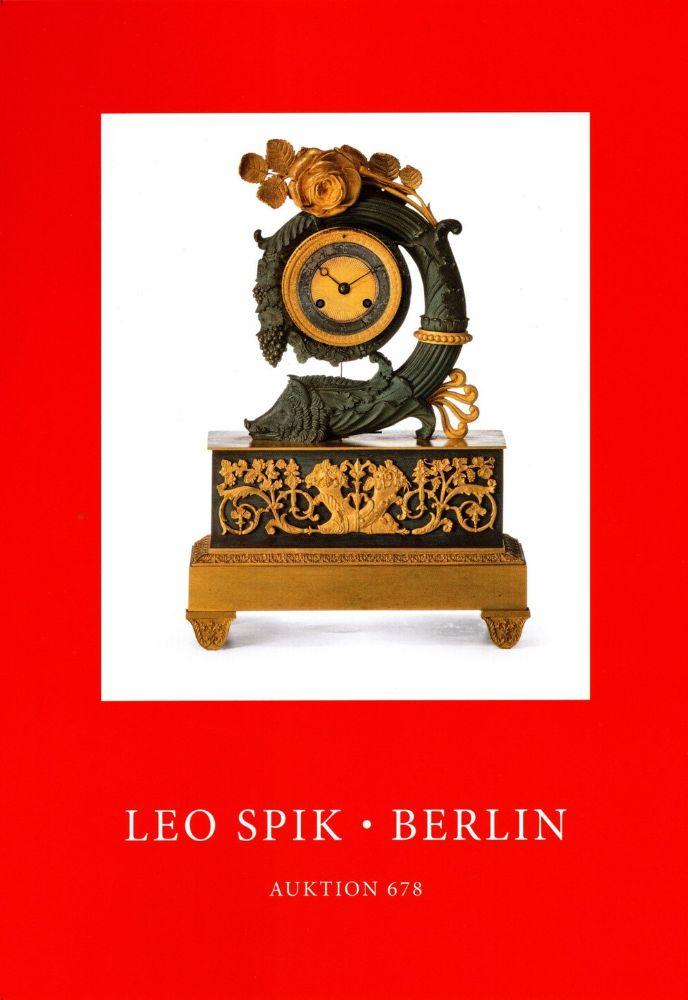 Auction 678 -  June, 24.-26. - Leo Spik KG Kunstversteigerungen
