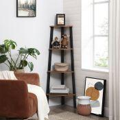 Amaia Corner Bookcase - RRP £58.99