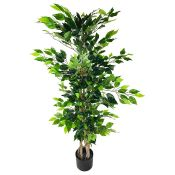 Artificial Ficus Tree in Pot - RRP £56.99