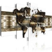 Metalic World' Graphic Art Print Multi-Piece Image on Canvas - RRP £119.99