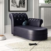 Theron Wooden Dog Sofa - RRP £89.99