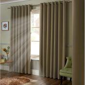Strome Eyelet Room Darkening Thermal Curtains - RRP £52.49