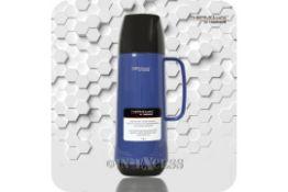 NEW THERMO CAFÉ 0.75L BLUE & BLACK FLASK