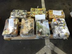 PALLET OF APPROX 720 ANIMAL DESIGN A4 FOLDERS