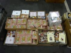 PALLET OF VARIOUS ANIMAL DESIGN CARD & ENVELOPES