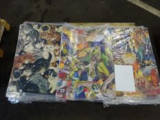 PALLET OF APPROX 570 SHEETS OF ANIMAL DESIGN WRAPPING PAPER