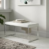 Loree Faux Leather Bench - RRP £104.99
