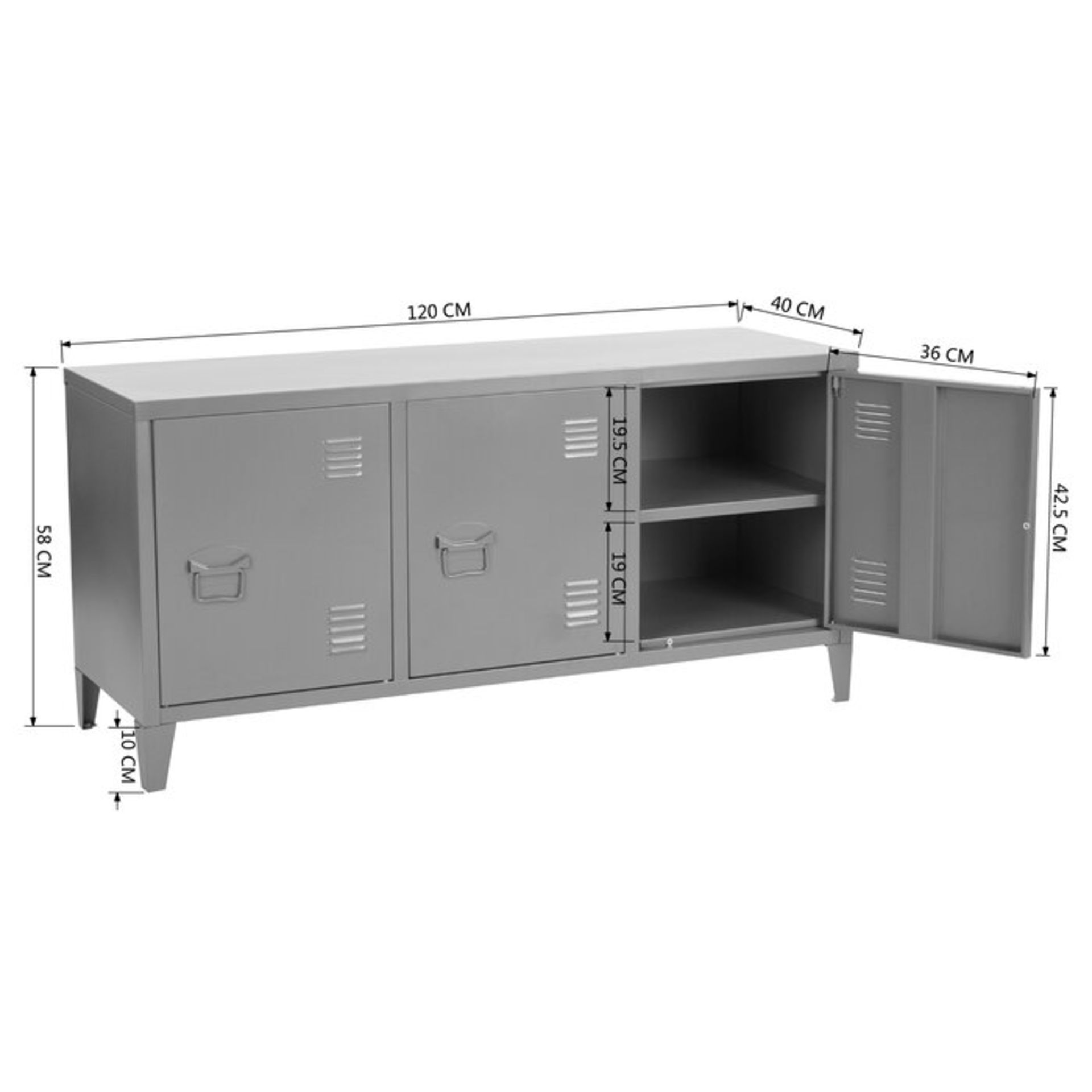Polina Sideboard - RRP £99.99 - Image 3 of 3