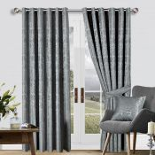 Gee Eyelet Semi Sheer Curtains - RRP £77.99