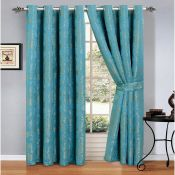 Savin Eyelet Room Darkening Panel Curtains - RRP £37.99