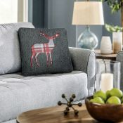 Ibrahim Stag Cushion Cover (Set of 4) - RRP £17.99