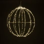 240 Warm White LED Twinkling Dewdrop Folding Ball