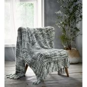 Macias Chunky Knitted Throw - RRP £45.99
