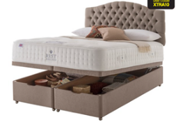 Carpet Right Ex-Display 5ft Rest Assured Windsor Ottoman Bed & Headboard|RRP £2399|