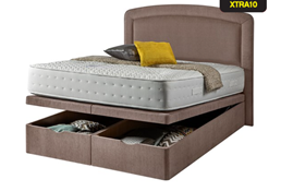 Carpet Right Ex-Display 5ft Sleepright Vicenza Ottoman Bed & Headboard|RRP £1099|